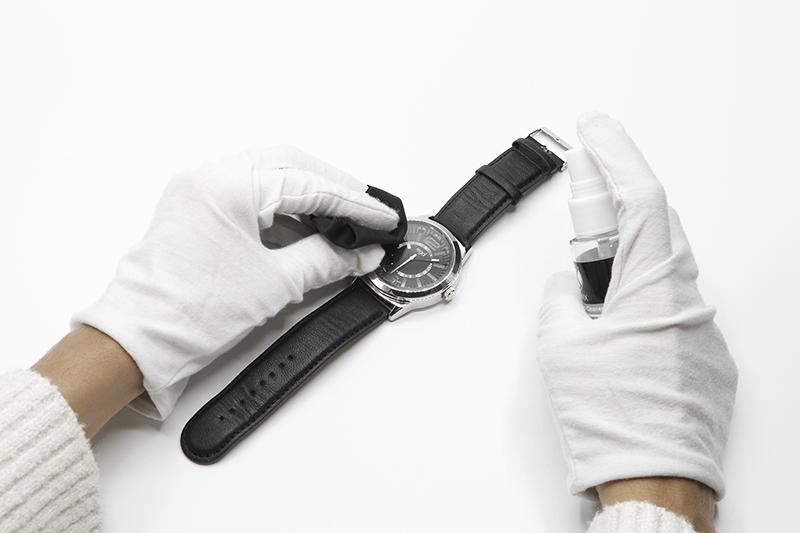 Comment nettoyer une montre avant un focus stacking manuel