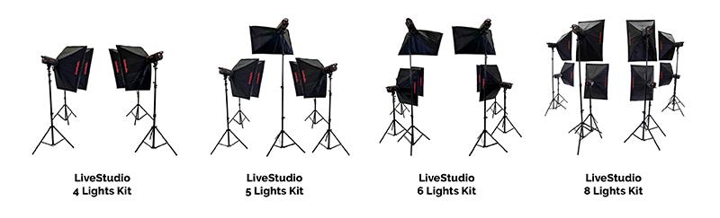 PackshotCreator LiveStudio kit d'eclairage