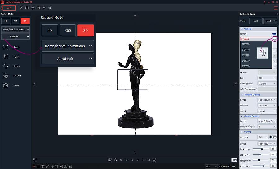 créer des animations 3D d
