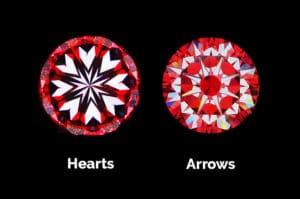 Vue Hearts and Arrows