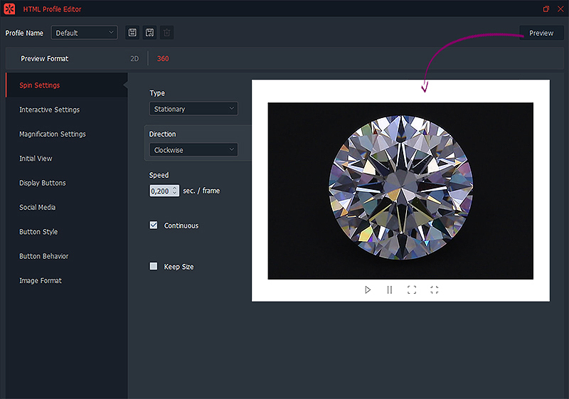 comment créer un profil html