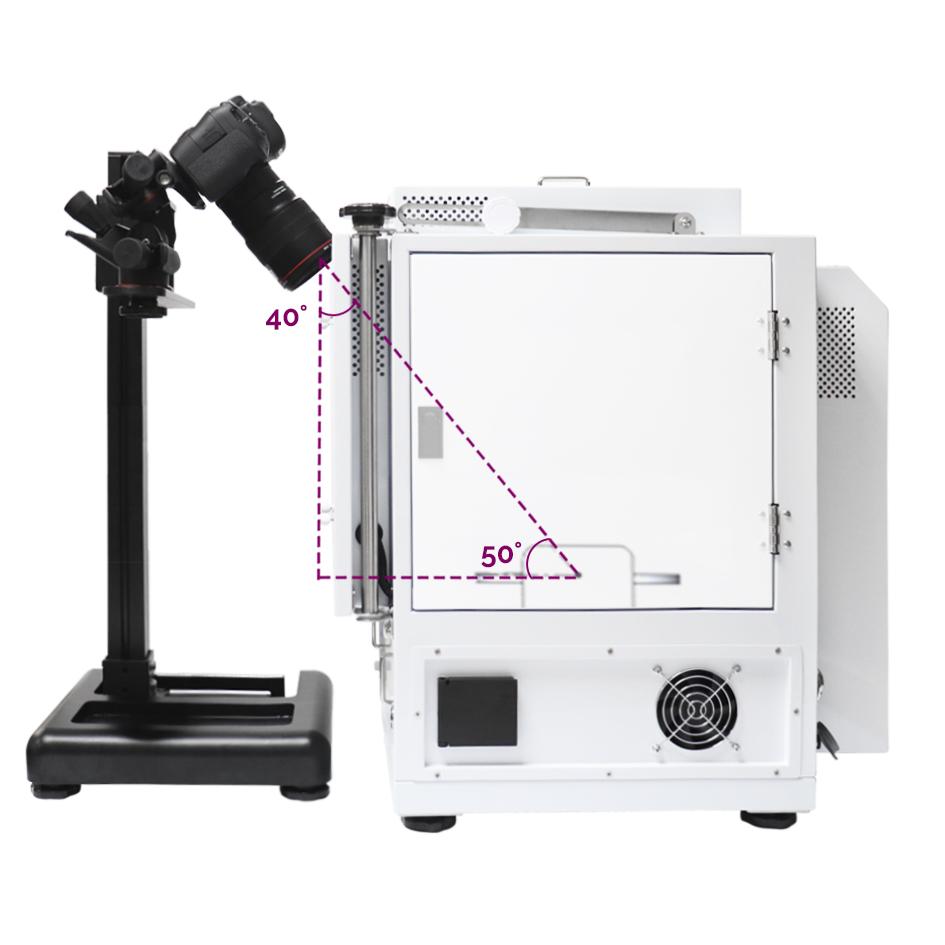 la position de la caméra pour créer des vues en diamant à 360