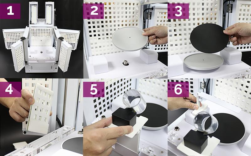 Mise en place du Loose Diamond Kit pour la vue 360 des feux