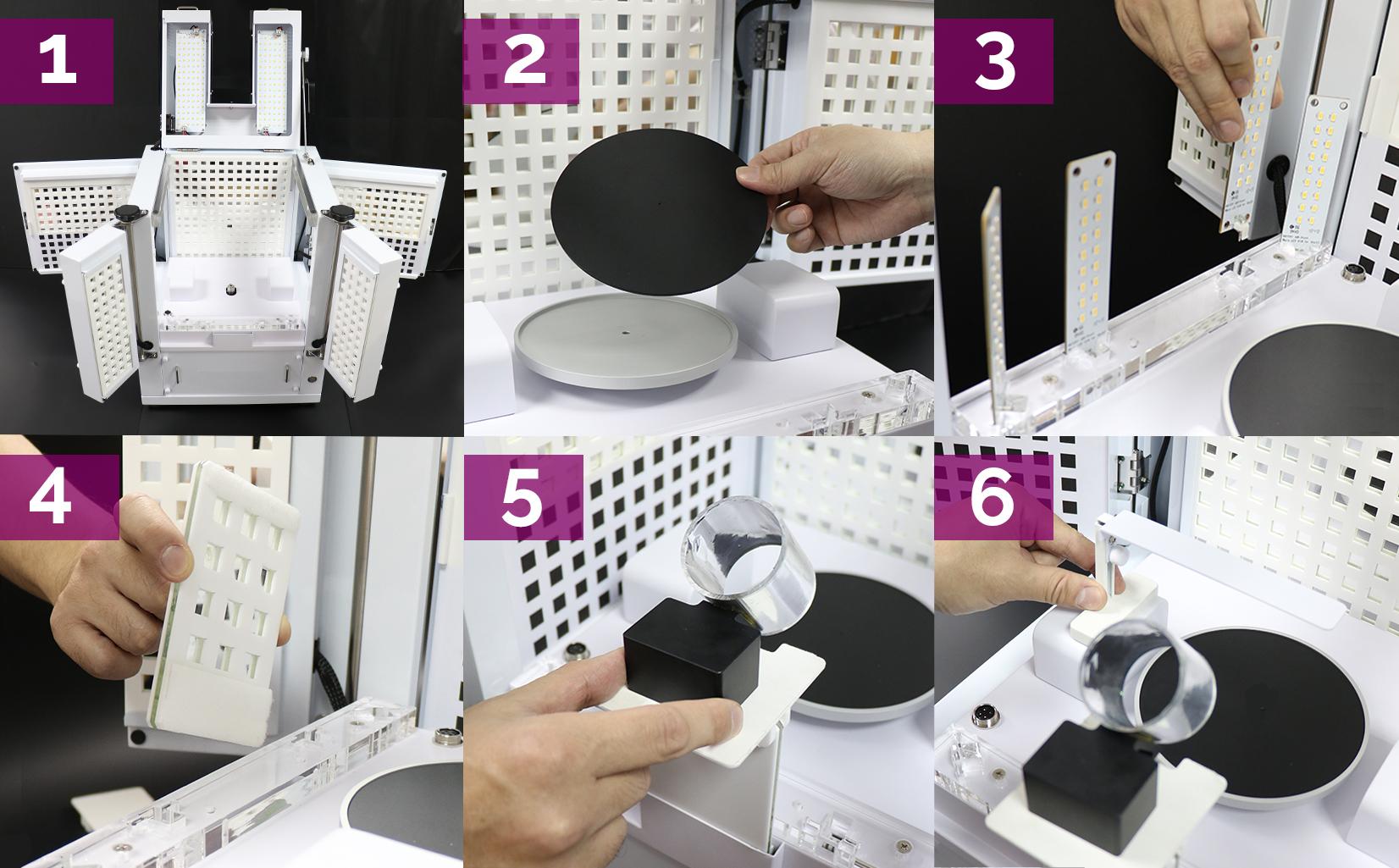 comment installer votre studio pour une vue à 360° des diamants étincelants